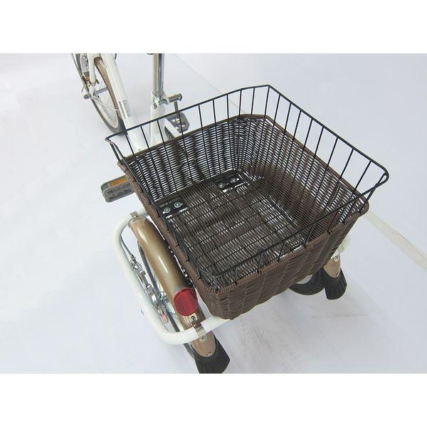 ミムゴ ロータイプ三輪自転車 ホワイト 型式MG-TRE16G SWING CHARLIE メーカー直送品 代引き不可|ko-te-ya|05