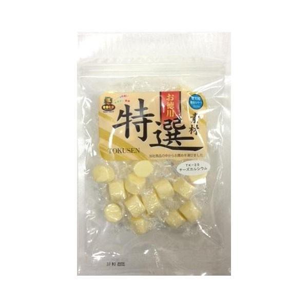 マルジョー&ウエフク ドッグフード 特選素材 チーズカルシウム 130g 6袋 TK-25|ko-te-ya