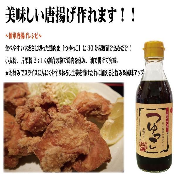 つゆっこ 麺つゆ うどん 万能つゆ 枕崎産鰹節 濃縮タイプ|kobai-shoyu|02