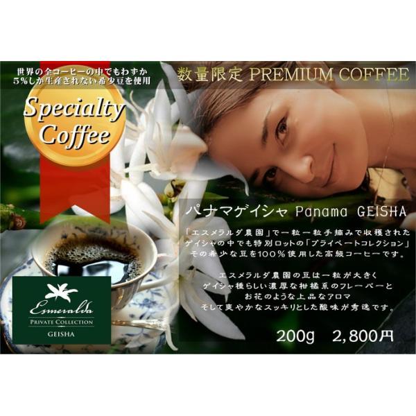 【数量限定】パナマゲイシャ (200g)|kobayashi-coffee