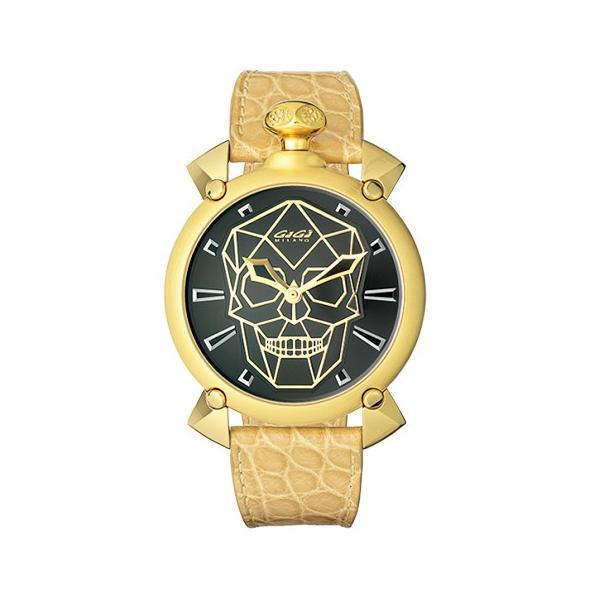 e423df19b8 腕時計 GaGa MILANO ガガミラノ マヌアーレ Manuale 45mm Bionic Skull バイオニックスカル 6014.01S  世界限定