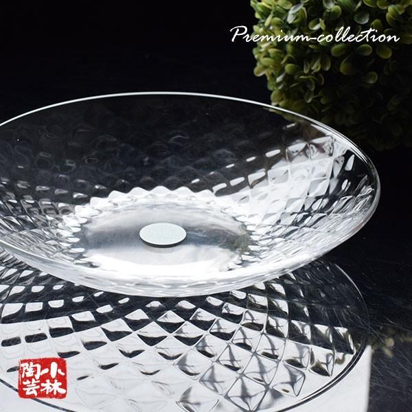 ガラス食器ルフレ麺皿