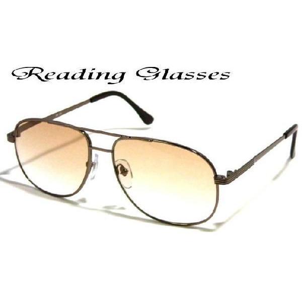 老眼鏡 おしゃれ 男性用シニアグラス リーディンググラス ケース付き ブラウンハーフレンズ サングラス (BR-2H BH) 送料無料