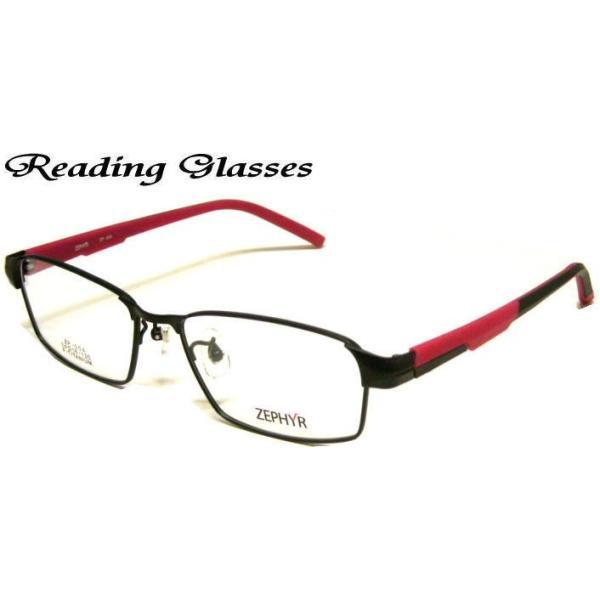老眼鏡 おしゃれ 男性用シニアグラス リーディンググラス ケース付き (ZP-004) 送料無料