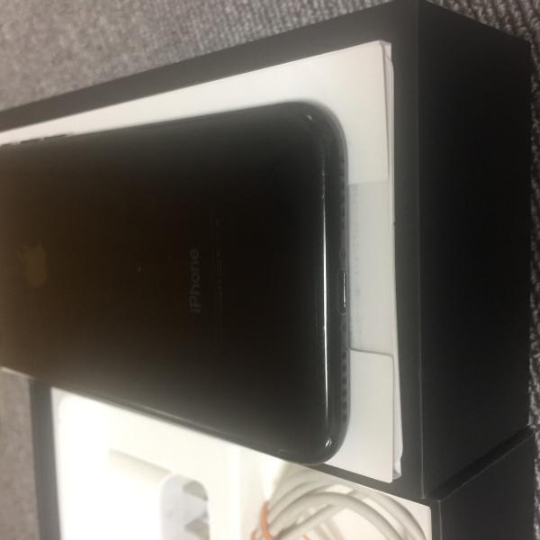 美品  国内版 simフリー    iPhone7 128GB  ジェットブラック色 Apple|kobayashimobile2|02