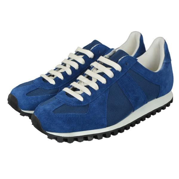 ジャーマントレーナー[GERMAN TRAINER]3183[BLUE]スニーカー|kobe-foot