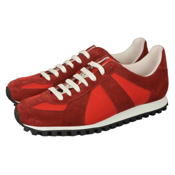 ジャーマントレーナー[GERMAN TRAINER]3183[RED]スニーカー|kobe-foot