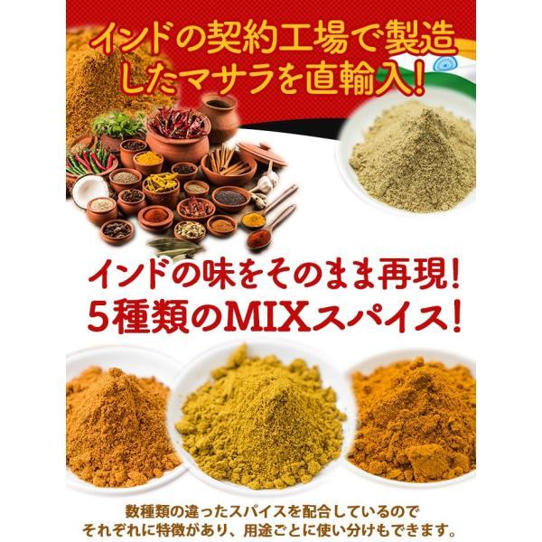 カレー粉 5種類から選べるオリジナルマサラセット 100g×3袋 送料無料 神戸スパイス kobe-spice 03