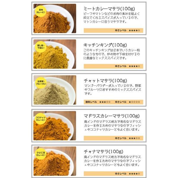 カレー粉 5種類から選べるオリジナルマサラセット 100g×3袋 送料無料 神戸スパイス kobe-spice 08