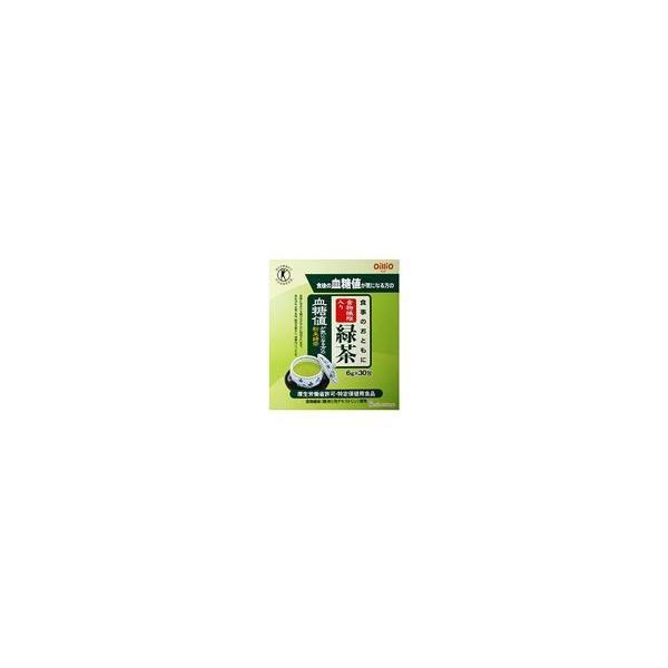【送料手数料無料】日清オイリオグループ株式会社 食事のおともに食物繊維入り緑茶 6g×30包×10個セット (特定保健用食品)