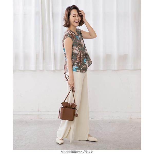 バッグ 鞄 ショルダーバッグ 巾着バッグ 巾着 コンパクト B1288|kobelettuce|10