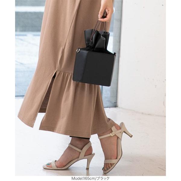 バッグ 鞄 ショルダーバッグ 巾着バッグ 巾着 コンパクト B1288|kobelettuce|07