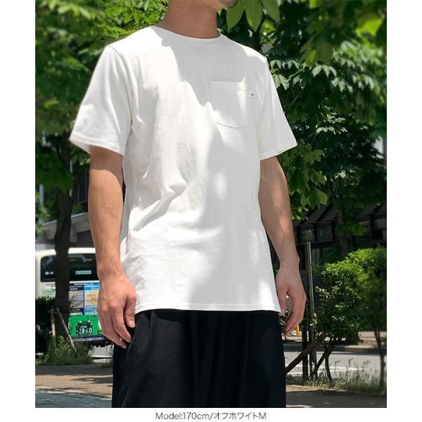 日替わりセール★Tシャツ トップス ゆるT サイドスリット ゆるTシャツ 半袖 [近藤千尋][メンズ]ポケット付き C3955送料無料メ便対応 kobelettuce 08