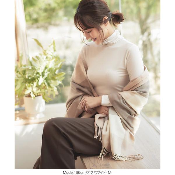 モック タートル ロンT ロングTシャツ 発熱 長袖 抗菌 防臭 インナー H502|kobelettuce|07