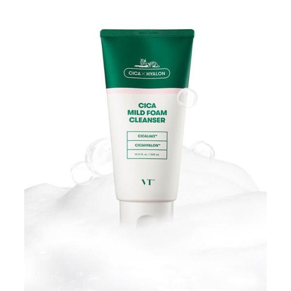 潤い VT CICA フォームクレンザー 韓国コスメ 大容量 クレンジング シカ 美肌 洗顔 スキンケア 保湿 肌 泡 やさしい Y591|kobelettuce|10