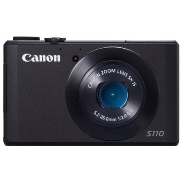 Canon デジタルカメラ PowerShot S110 約1210万画素 F2.0 光学5倍ズーム ブラック PSS110(BK)