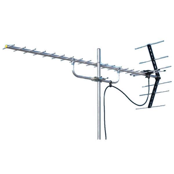 送料無料 マスプロ電工 地上デジタル放送受信用 家庭用 UHFアンテナ 20素子 U206 同梱不可