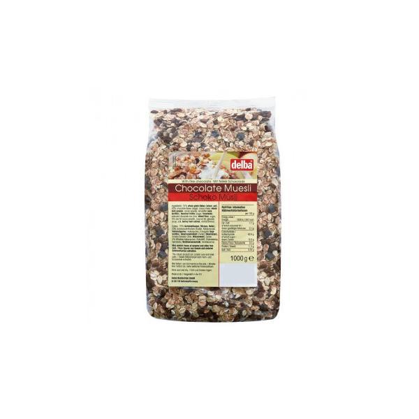 delba(デルバ) チョコレートミューズリー 1kg×10個セット 送料無料 同梱不可