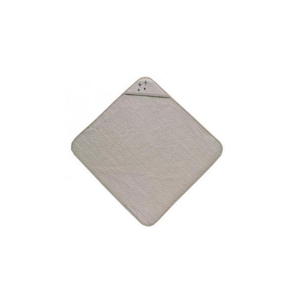 洗える やわらか イブル生地 おくるみ グレー 約85×85cm 9845549 送料無料 同梱不可