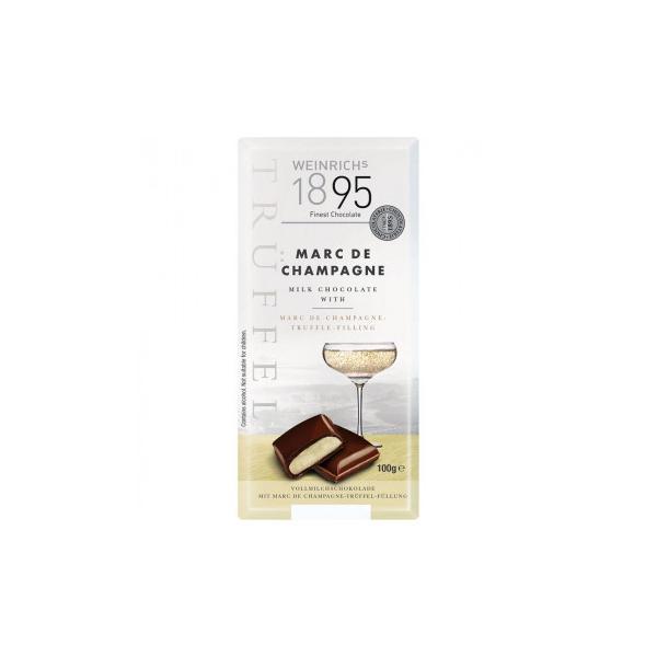 ワインリッヒ マールドシャンパーニュ チョコレート 100g 120セット 送料無料 同梱不可