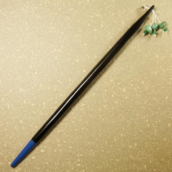 かんざしや とんぼ玉 かんざし ターコイズ 現品限り 1点もの 髪飾り ヘアアクセサリー kochi-bussan 02