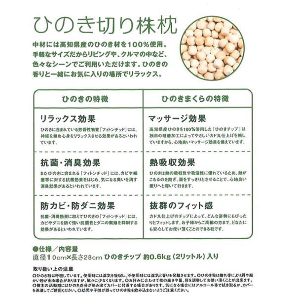 ひのき切り株枕 kochi-bussan 04