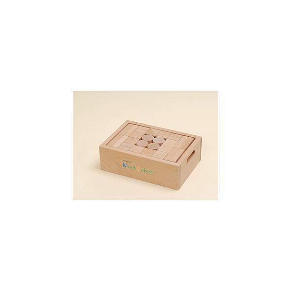 ウッドキューブ(積木)/30ピース|kochi-bussan