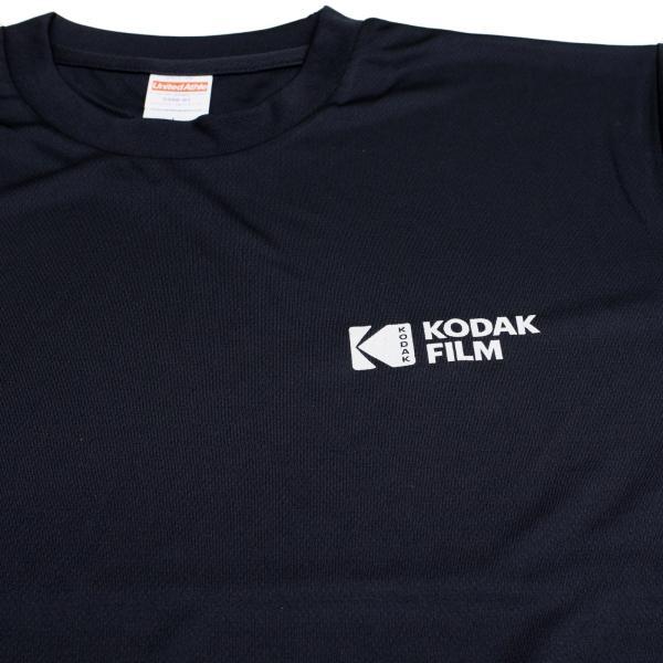 KODAK Motion Picture ドライTシャツ(黒)|kodak|03