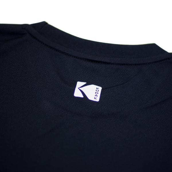 KODAK Motion Picture ドライTシャツ(黒)|kodak|04