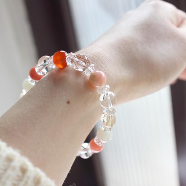 子宝 妊娠 不妊 パワーストーン スペシャル ブレスレット 妊活 お守り 天然石|kodakara|02