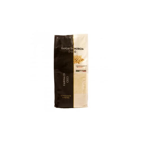 サポーリ・ディ・ノルチャ ヒヨコ豆の粉 ファリーナ ディ チェーチ 500g 20袋セット 7409 (送料無料) 直送