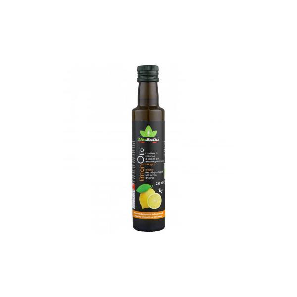 テルヴィス 有機 エクストラバージンオリーブオイル レモン風味 250ml×12本  (送料無料) 直送