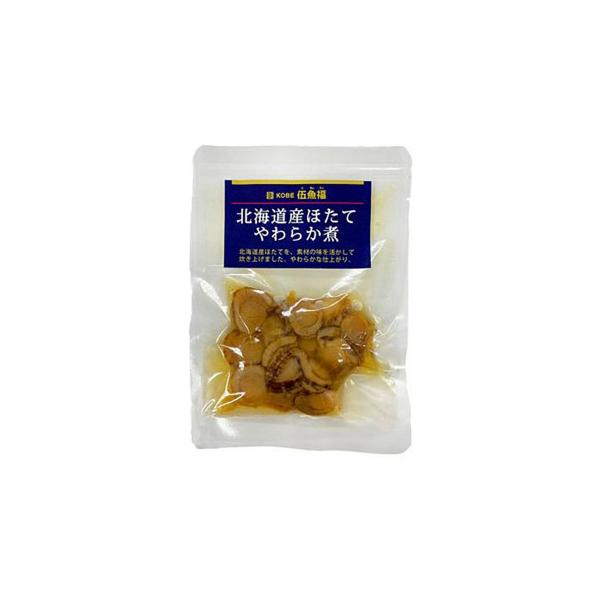 伍魚福 おつまみ 北海道産ほたてやわらか煮 60g×10入り 216230 冷凍 (送料無料) 直送