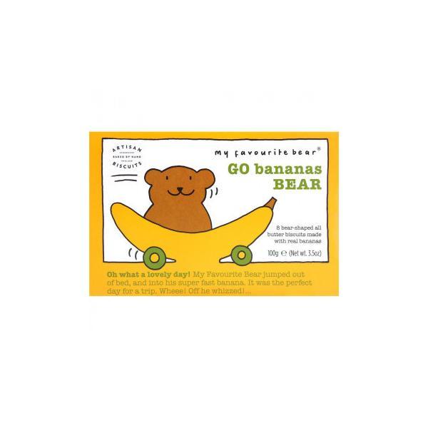 アーティザン ベアー型ビスケット バナナ ベアー 100g 12セット (送料無料) 直送