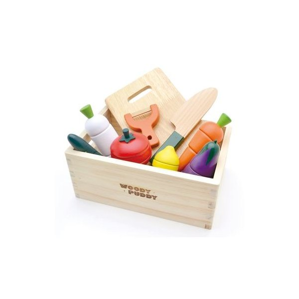 G05-1139 サラダセット(木箱入り)|kodomo-cocco