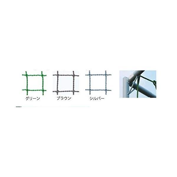 鵜沢ネット ホームゴルフネット GMタイプ 3×3×3m 色グリーン 組立簡単ネット吊り下げ式 日本製 ゴルフ練習|kodomor|02