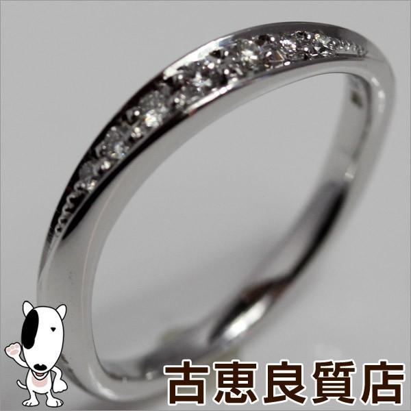 4℃ ヨンドシー K18WG リング 指輪 サイズ12号 ダイヤ ホワイトゴールド/中古/質屋出店/あすつく