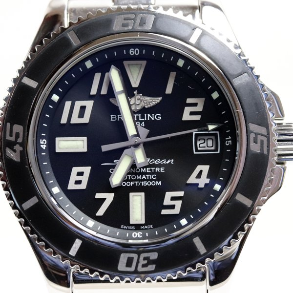BREITLING ブライトリング スーパーオーシャン42 A17364 メンズ 腕時計 オートマ 自動巻き/中古/質屋出店/MT2625|koera
