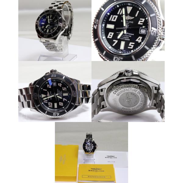BREITLING ブライトリング スーパーオーシャン42 A17364 メンズ 腕時計 オートマ 自動巻き/中古/質屋出店/MT2625|koera|02