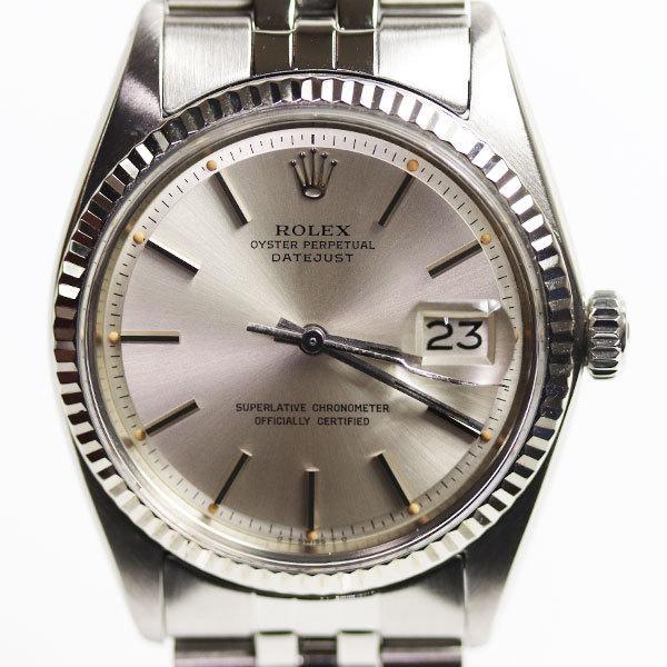 MT3070ROLEXロレックスデイトジャスト腕時計メンズ自動巻き1601/中古/アンティーク当社指定業者にてオーバーホール済み
