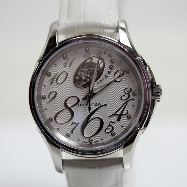 Hamilton ハミルトン jazzmaster ジャズマスター Open Heart オープンハート レディース腕時計 37mm H32465953/中古美品 /MT1894|koera