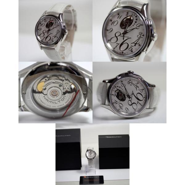 Hamilton ハミルトン jazzmaster ジャズマスター Open Heart オープンハート レディース腕時計 37mm H32465953/中古美品 /MT1894|koera|04