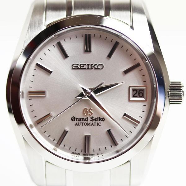 SEIKO セイコー GRAND SEIKO グランドセイコー SBGR051/9S65-00B0 メンズ 自動巻き腕時計 シルバー文字盤 ステンレスモデル シースルーバック  美品 MT2332