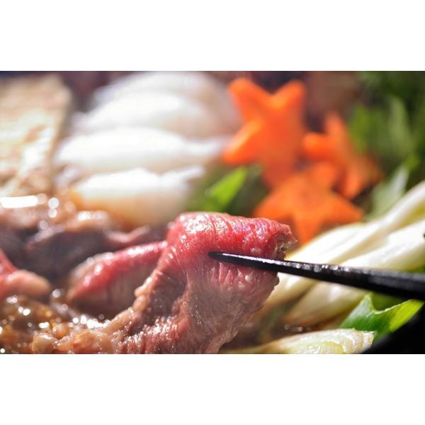 すき焼き 牛肉 肉 ギフト 焼き肉 焼肉 赤身 すき焼き用牛肉 高級 国産牛肉 トロ赤身すき焼き 500g (3~4人前)|kofukutei|07