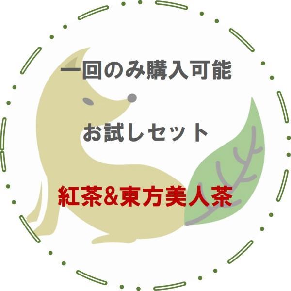 【NHKで放送されました】送料無料でまずは当店の台湾茶をお試しください★お試し用茶葉・台湾紅茶と東方美人茶★|kogetsuan