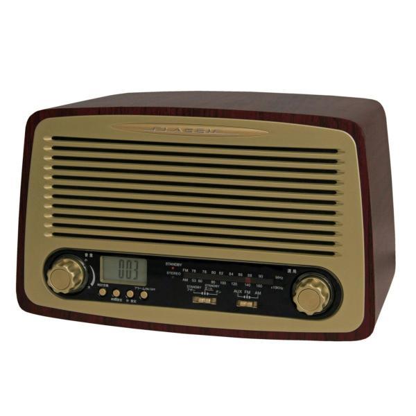 WINTECH クラシックホームラジオ HR-W18G|kohkavalue