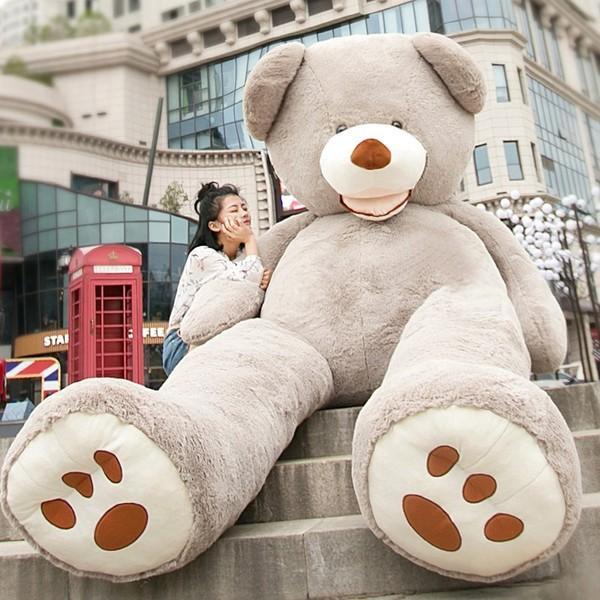 新作 ぬいぐるみ クマ 特大 くま テディベア アメリカCostCo 巨大 くま ぬいぐるみ 熊 縫い包み 結婚お祝い プレゼント250cm|koho|02