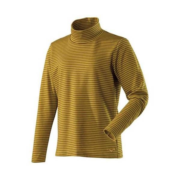 MIZUNO(ミズノ) / ブレスサーモボーダーハイネックシャツ