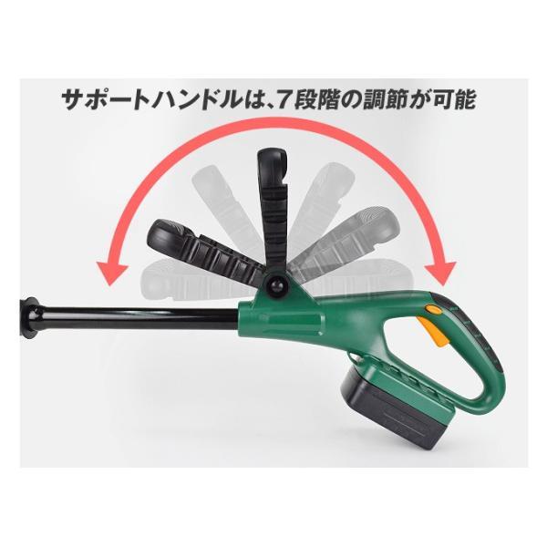 草刈機 充電式 草刈り機 コードレス・ブレード草刈り機 1個 ナイロンブレード 樹脂刃 家庭用 電動 軽量 パワフル(いまなら交換用ブレード10枚サービス中)|kokkaen|10