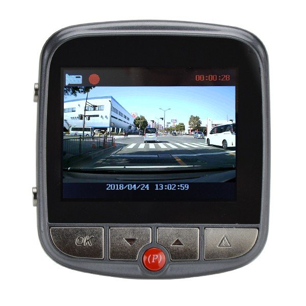 ドラレコ 小型ドライブレコーダー DH09(SDカード16GB付) 1個 高画質 1080P 140度 Gセンサー搭載 12V車対応 日本語説明書(通常価格 4290円 ⇒ 3003円 30%OFF)|kokkaen|03